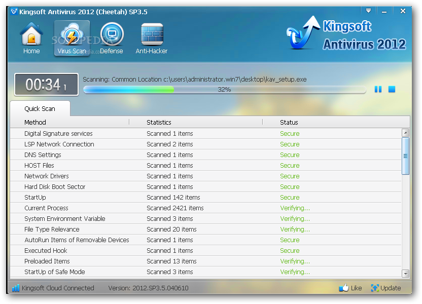 Kingsoft Free Antivirus 2010 ������ Kingsoft-Free-Antivirus_2.png