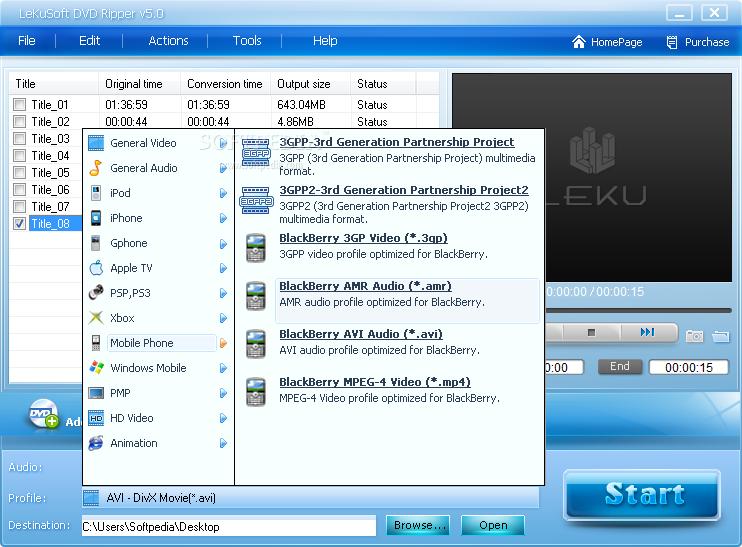 لإصلاح الفيديو والنسخ LeKuSoft DVD Ripper 5.2 LeKuSoft-DVD-Ripper_2