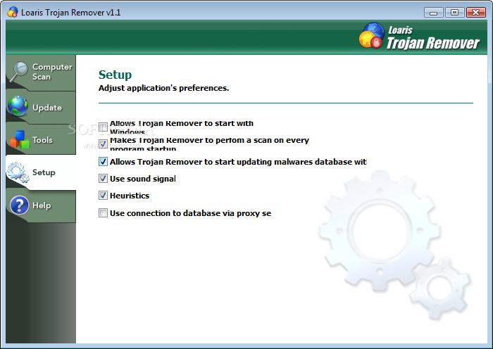Loaris Trojan Remover screenshot 3