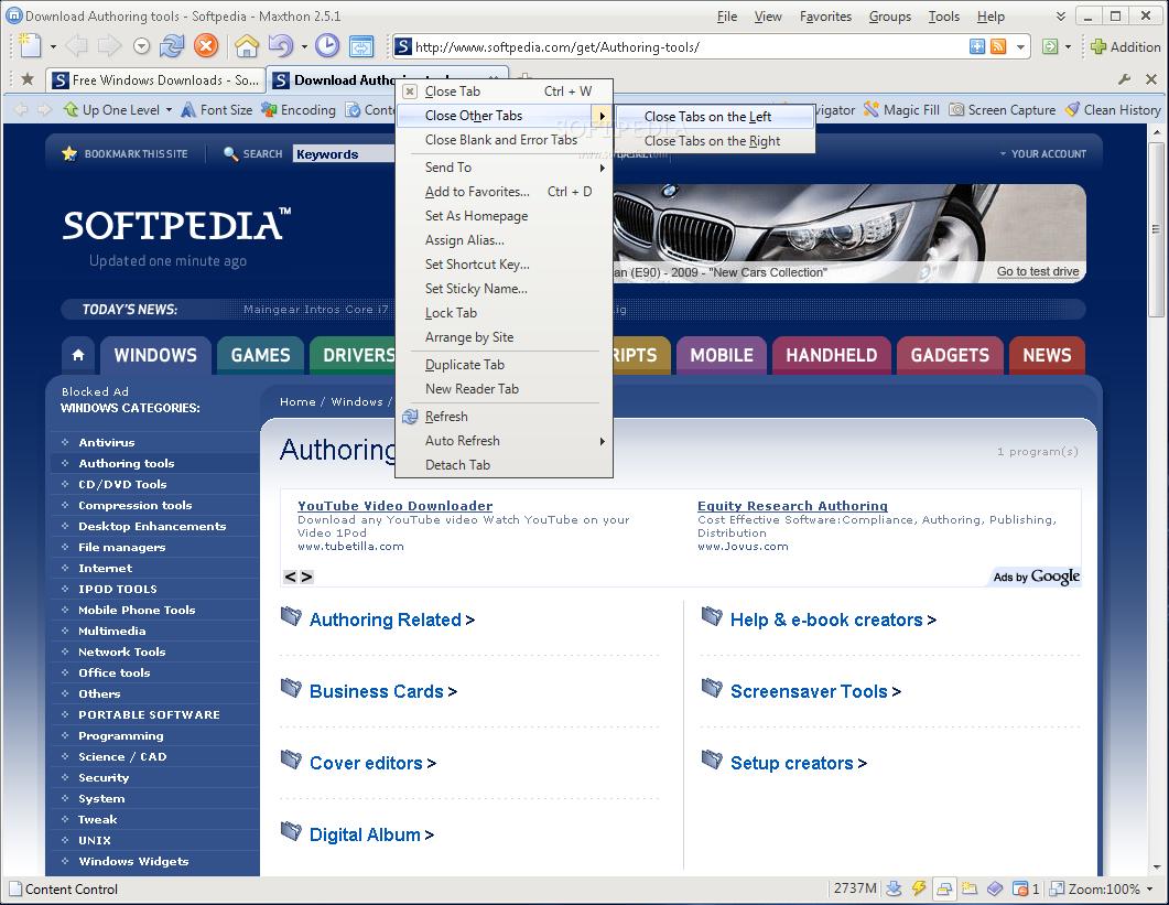 Maxthon 3.0 Alpha 3 (3.0.0.112) / 2.5.2.6608 Beta 4 - Trình duyệt web cực nhanh, nhẹ và an toàn