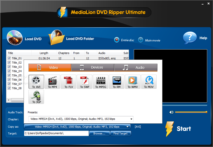 ������ MediaLion Ripper Ultimate ������ MediaLion-DVD-Ripper-Pro_1.png