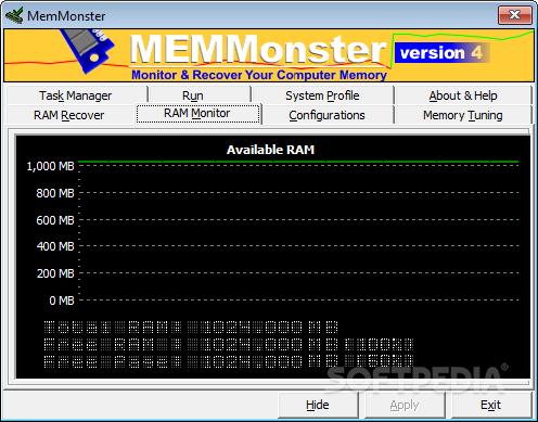 MemMonster 4.70 ������� ����� ����� ��512 ���� ���1 ����