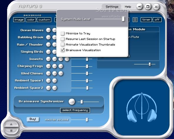 NATURA Sound Therapy Screenshot