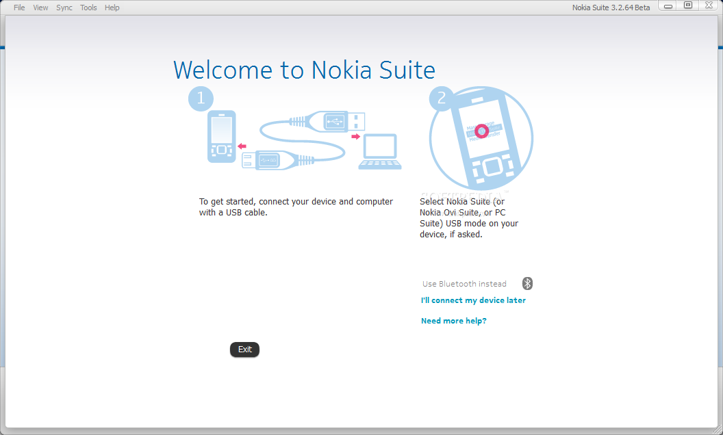Nokia Ovi Suite screenshot 1