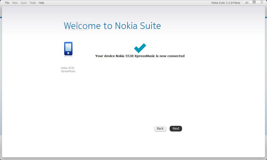 Nokia Ovi Suite screenshot 2
