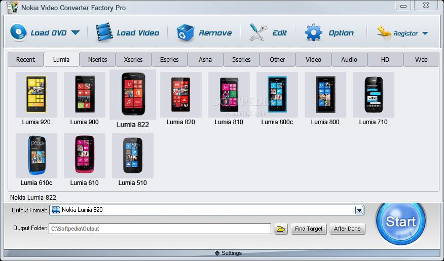 برنامج Nokia Video Converter Factory Pro 2.0 AddThis