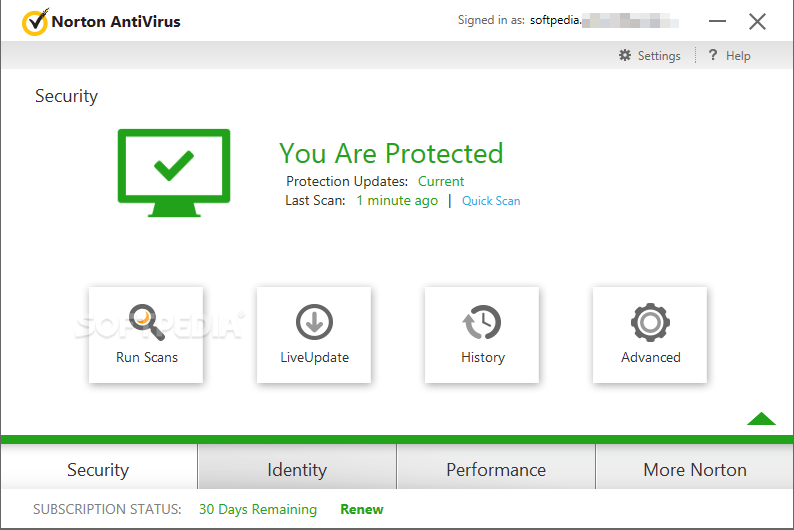 Norton AntiVirus 2009 screenshot 2