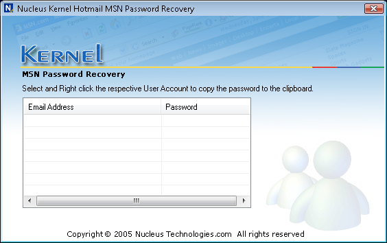 ������ ����� �������� �������� ��������� Nucleus-Kernel-Hotmail-MSN-Password-Recovery_1.png