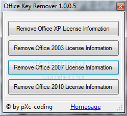 Office Key Remover 1.0.0.3 | 5 MB