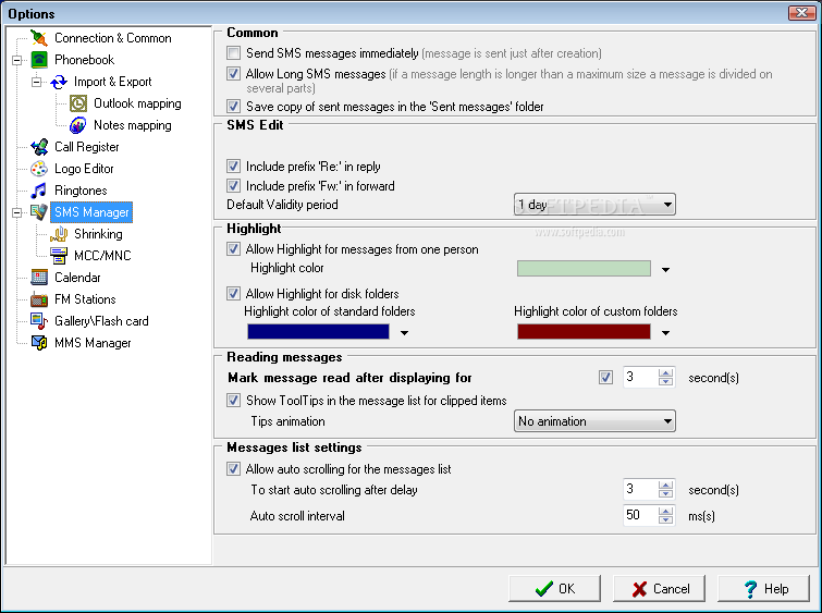 Oxygen Phone Manager II 2.18.1.8. برنامج اوكسجين مانجر للتحكم باعدادات
