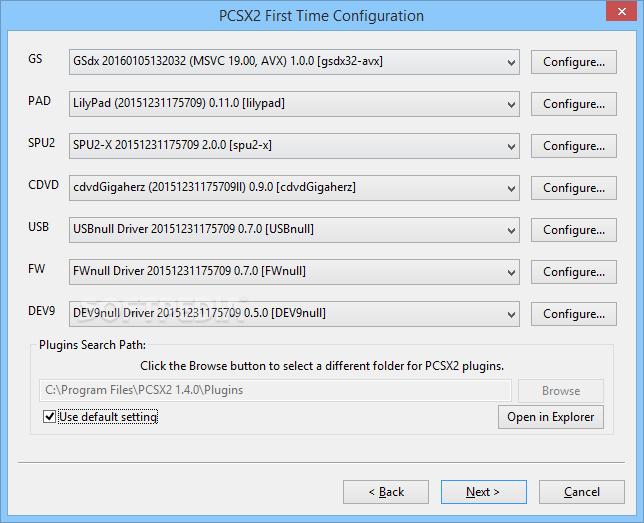 برنامج pcsx2 لتشغيل العاب البلاى play station