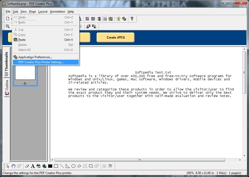 PDF Creator Plus