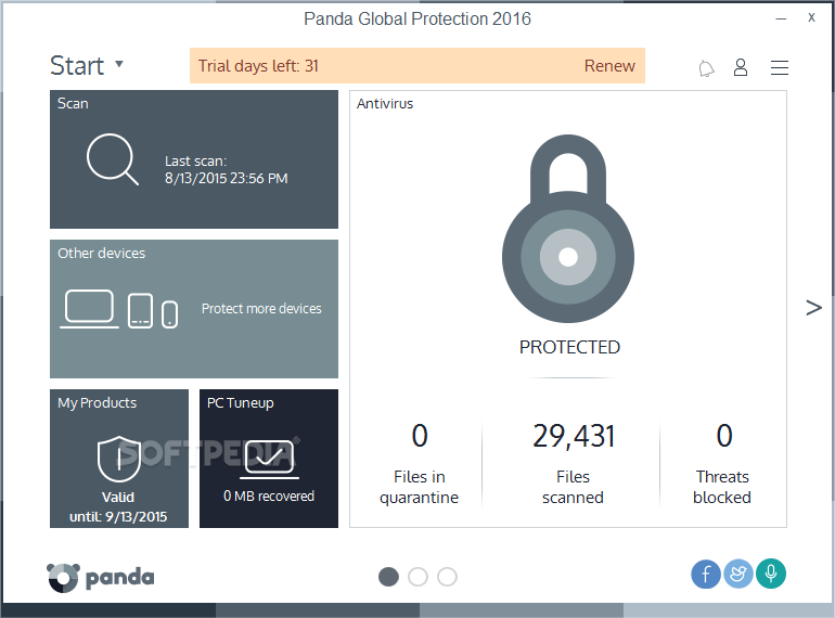 Panda Global Protection 2009 2.00.00