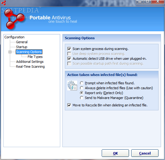 Portable Antivirus 1.6.392 Beta