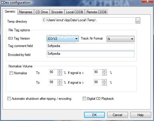 القسم الثاني: برامج أدوات التحكم بملفات الدي في دي والسي دي Portable-CDex_3