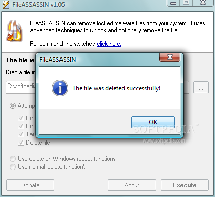 FileASSASSIN : Deleting Impossible to Delete Files 1