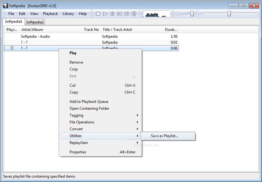 القسم الأول: برامج الأوديو والفيديو Part 1: Audio & Video Progs Portable-foobar2000_3