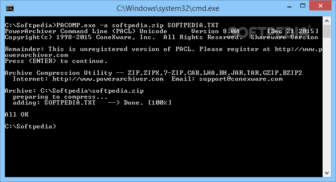 النسخة الذهبية الاخيرة من عملاق ضغط البيانات PowerArchiver 2007 10.21