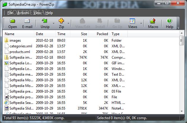 مكتبة البرامج الاساسية (متجددة ) PowerZip_1