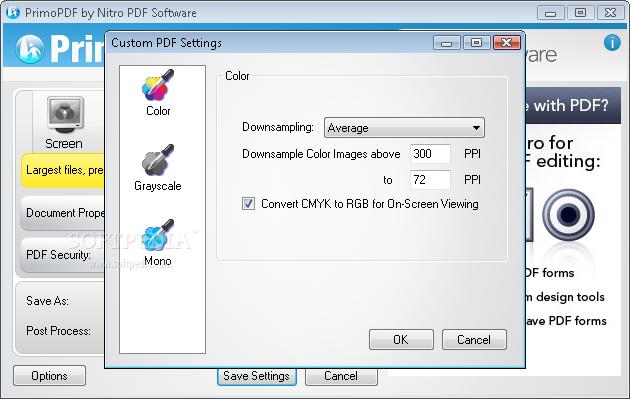 Free PDF Converter; PrimoPDF