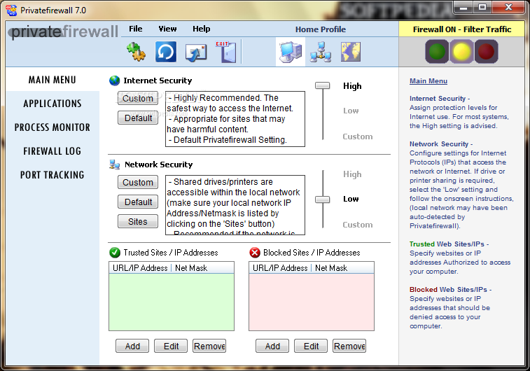 Private firewall