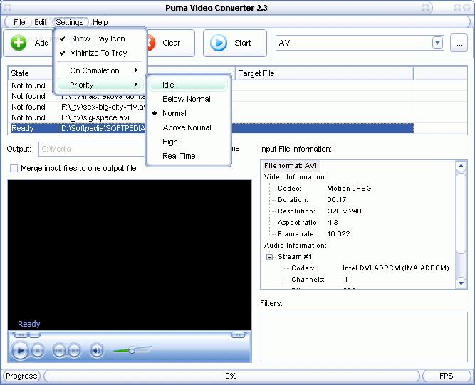 قنبله فى مجال تحويل امتدادات الفيديو Puma Video Converter Puma-Video-Converter_2