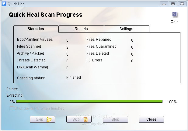 Quick Heal Antivirus Plus 2007 قل للفيروسات باي باي