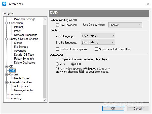 ������ RealPlayer 11.1.3 Build 6.0.14.955 RealPlayer_10.png