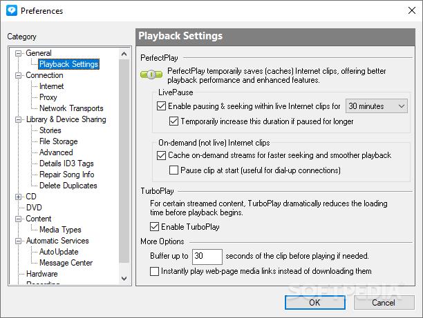 ����� ������ RealPlayer 11.1.3 Build RealPlayer_9.png
