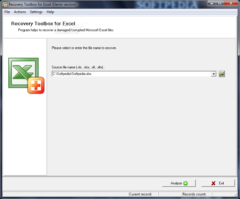 Download Software Recovery Toolbox For Excel 1 1 9 51