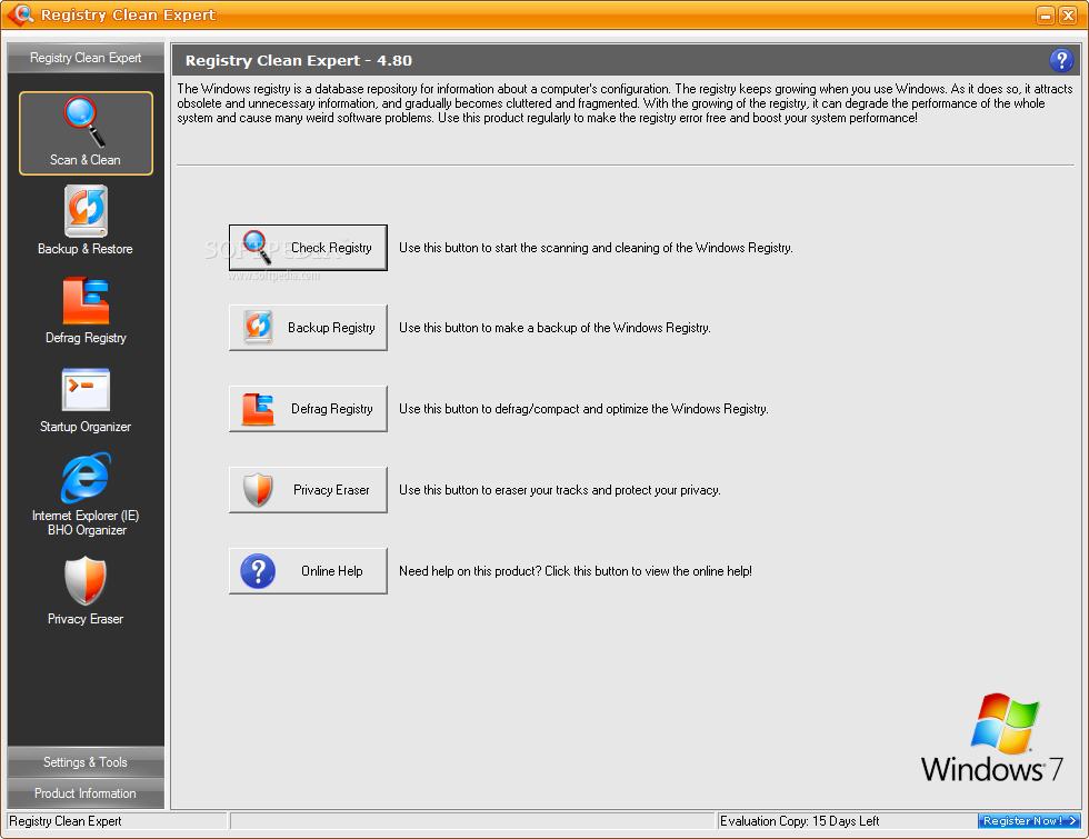 Registry Clean Expert 4.65 好用的系統註冊表清理工具~new