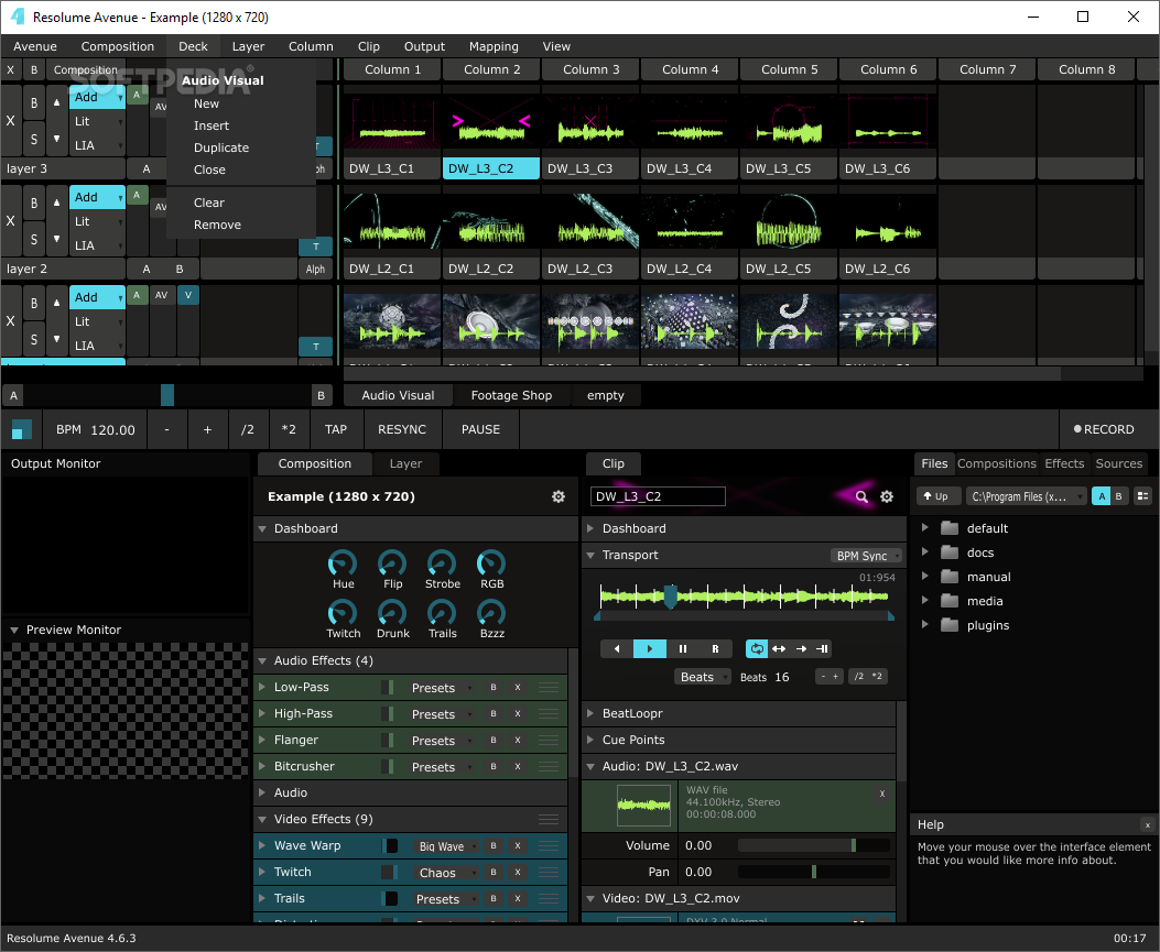 Resolume Avenue v3.1.3 PC - MAC