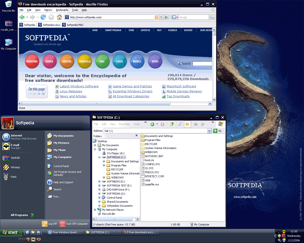 http://www.softpedia.com/screenshots/Royale-Noir-Theme_1.png
