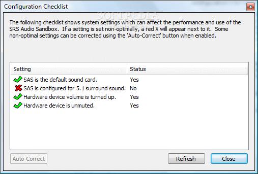 SRS Audio Sandbox 6 Memperbesar suara pada laptop
