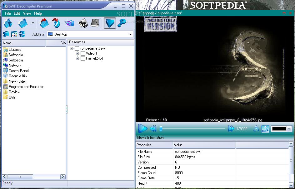 SWF Decompiler Premium 2.0.5.80