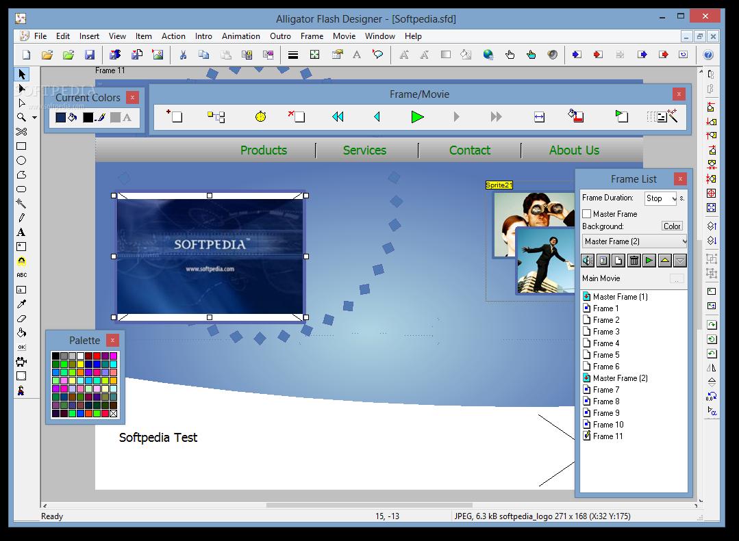 حصرياً  برنامج لتصميم البنرات المتحركة والفلاشيات الجاهزة Selteco-Flash-Designer_1