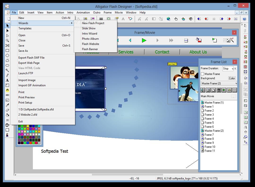 حصرياً  برنامج لتصميم البنرات المتحركة والفلاشيات الجاهزة Selteco-Flash-Designer_2