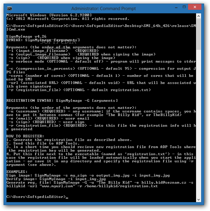 ������ SignMyImage Command-Line 3.09 ������ SignMyImage-Command-Line_1.png