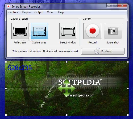 ������ Smart Screen Recorder 1.0.17 ������ ����� �������� �� ����� �� ��� ��� ������
