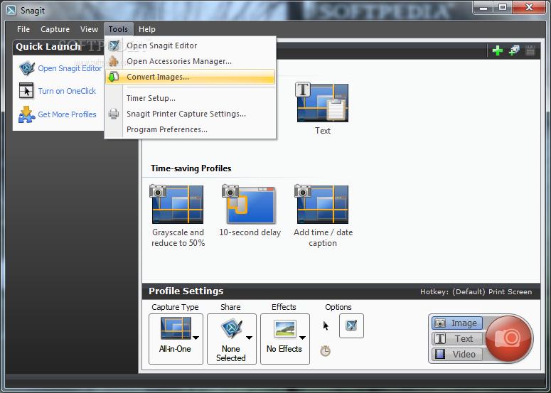 ����� ������ ����� SnagIt 9.0.2 Build 9