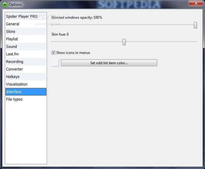 تحميل مشغل الصوتيات Spider Player 2.4.5 في آخر إصداراته Spider-Player_11.png