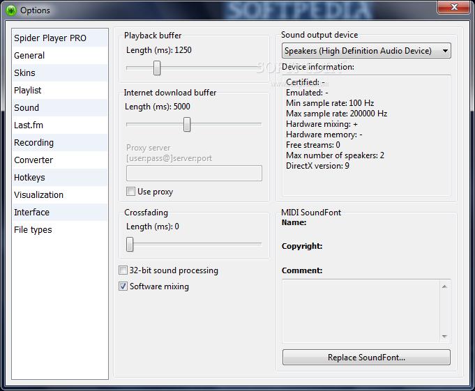 تحميل مشغل الصوتيات Spider Player 2.4.5 في آخر إصداراته Spider-Player_5.png