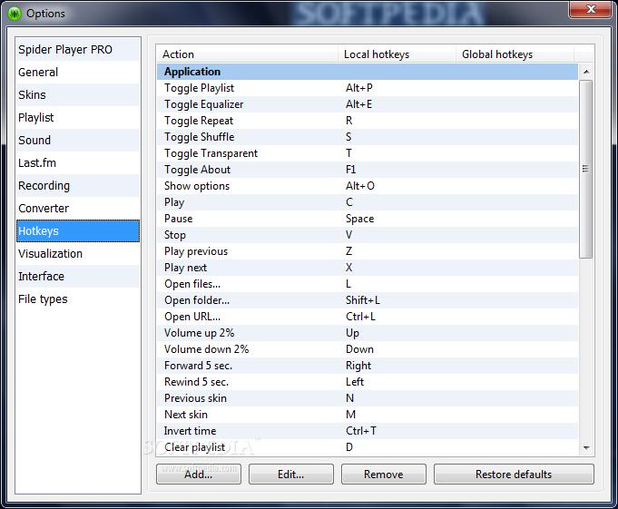 تحميل مشغل الصوتيات Spider Player 2.4.5 في آخر إصداراته Spider-Player_9.png