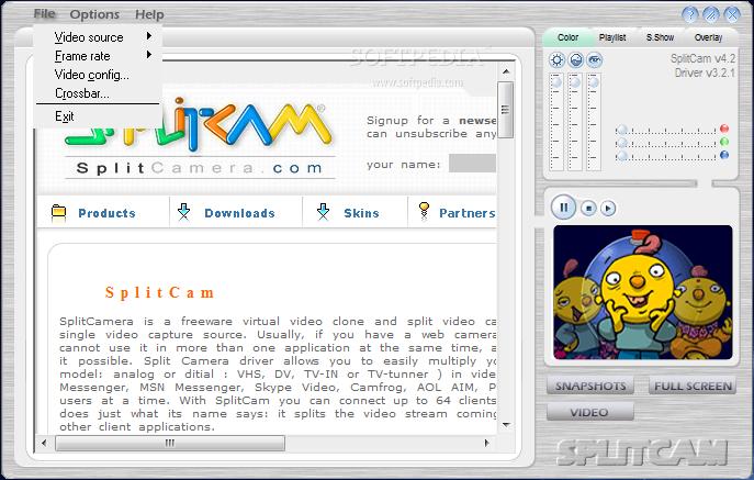 Splitcam Clone Video Screenshot