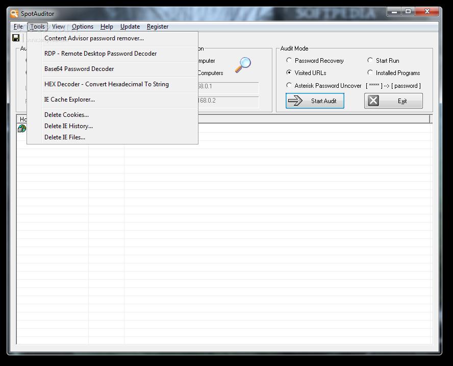 SpotAuditor 4.9.8.0