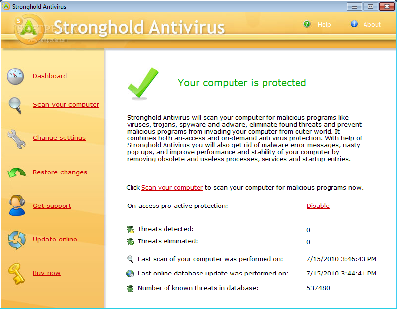 ������ Stronghold Antivirus ������ ����� Stronghold-Antivirus_1.png