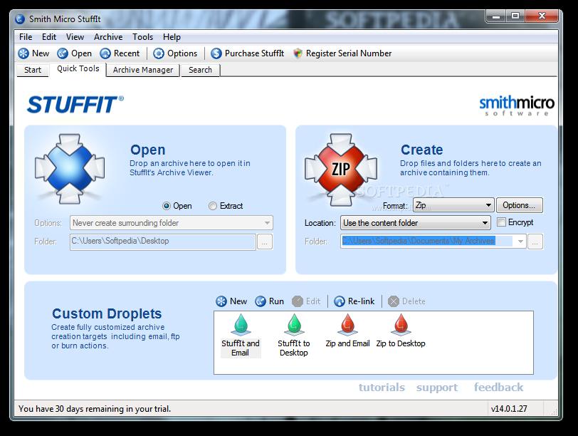 برنامج StuffIt Deluxe 2010 description للملفات