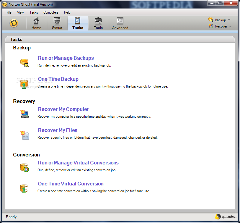 Symantec norton ghost 14 pccdspanish
