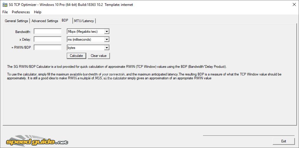برنامج TCP Optimizer 3.0.3 لتسريع الانترنت اضعاف السرعة