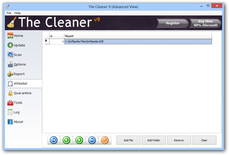 The Cleaner 2011 - تحميل برنامج The Cleaner 2011 7.2.0.3510